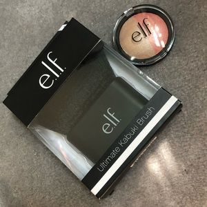 Elf Brush and Highlighter/Blush Bundle